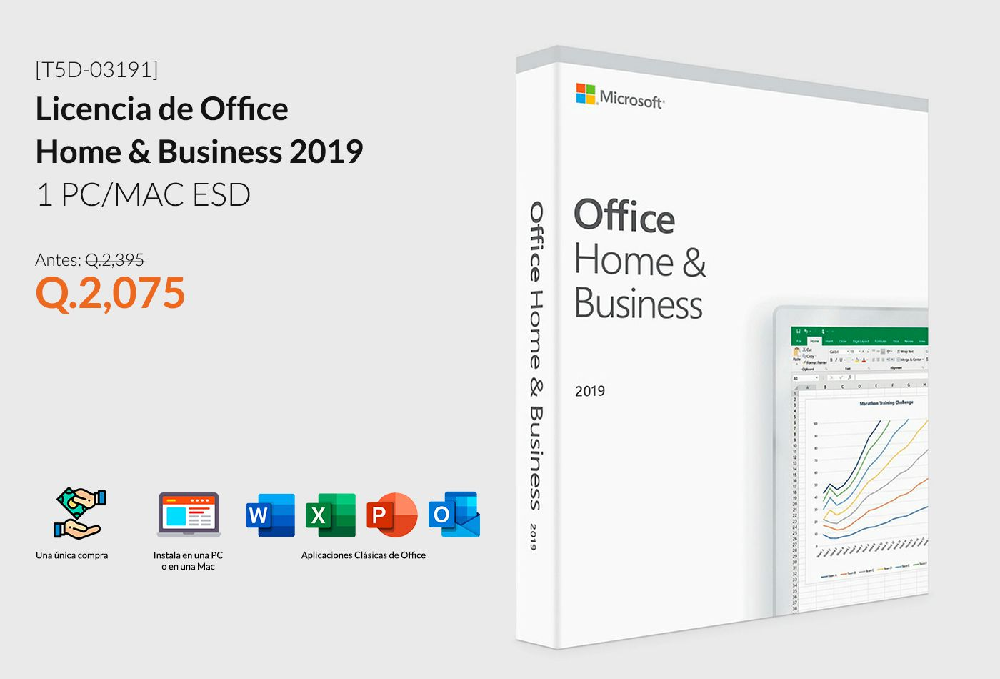 Licencia Office Home and Business 2019