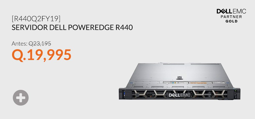 Servidor Dell PowerEdge R440