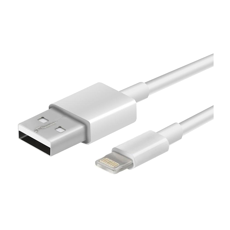 Cable USB a Lightning Argom 3FT Blanco ARG-CB-0037