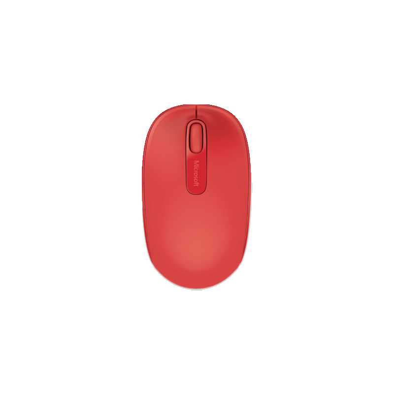 Mouse Inalámbrico Microsoft Mobile 1850 Rojo