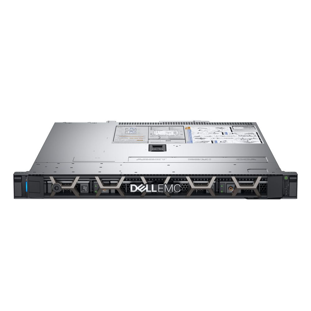 Servidor Dell PowerEdge R340 Intel E-2134 3.3 Ghz  8GB RAM 1TB HHD Fuente Redundante 350 Watts 1 Año Garantía ProSupport