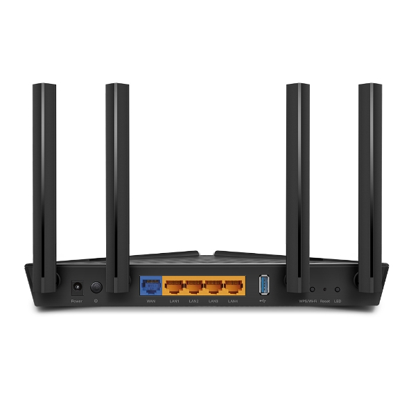 Router TP-Link Archer AX3000 Doble Banda Wi-fi 6 2402Mbps 5Ghz 574Mbps 2.4Ghz 4 antenas