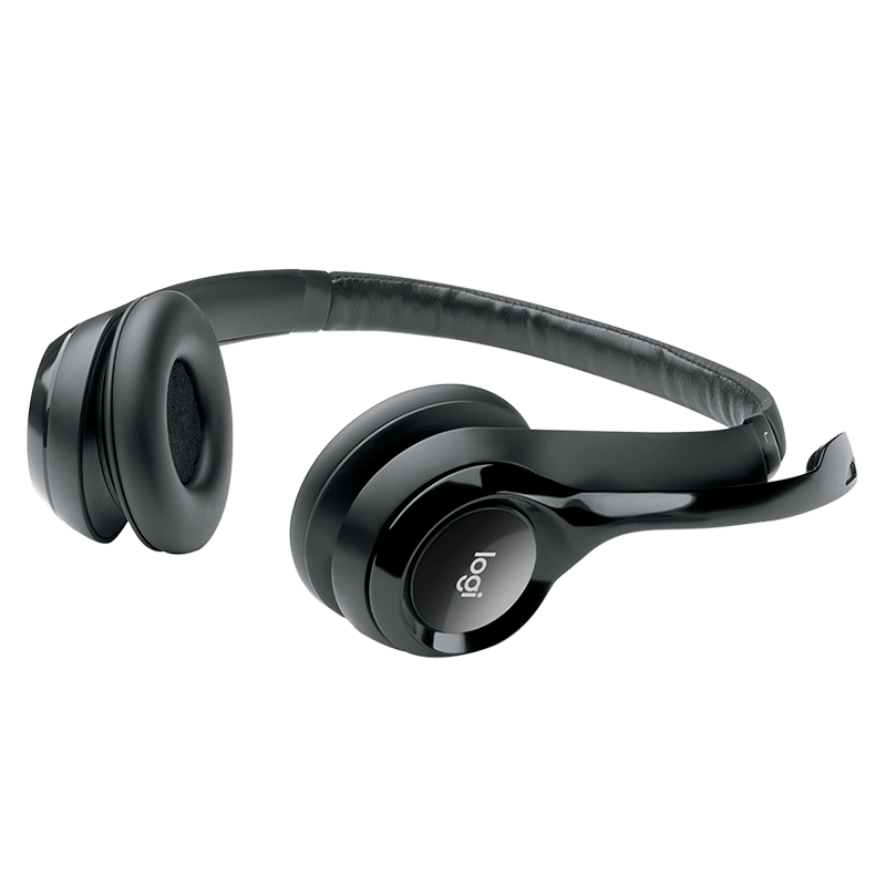 Audifonos Logitech USB tipo Headset H390 Negro