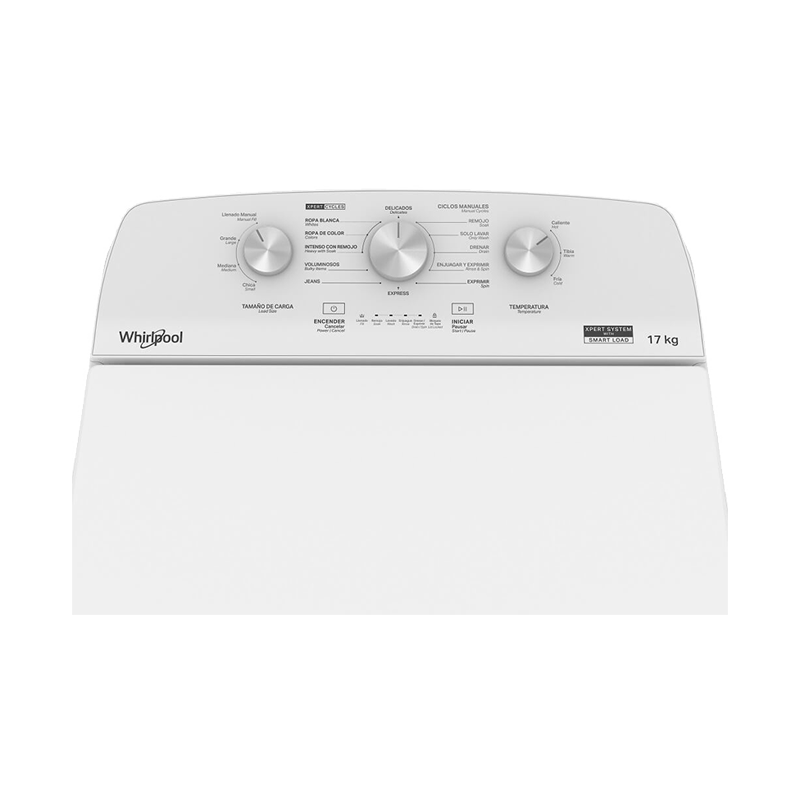 Lavadora Whirlpool Carga Superior Xpert System 17 kg