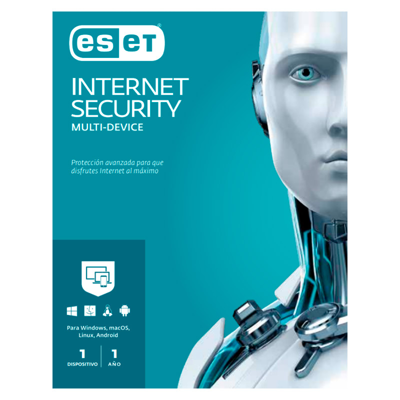 Licencia ESET Internet Security 1PC 1Año Maestro Estudiante