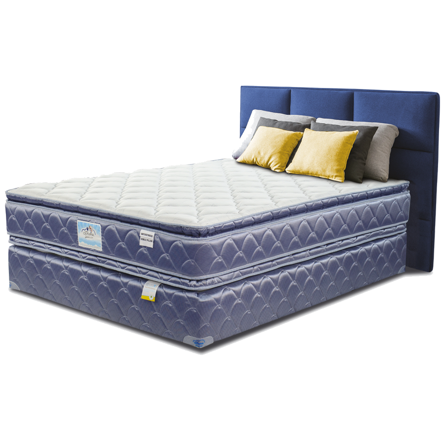 Cama Olympia  Antistress Doble Pillow King