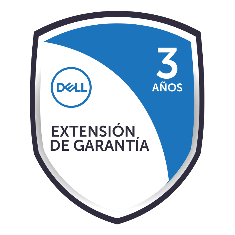 Garantía Extendida 3 años Basic NBD On-Site para Notebook Dell Vostro 3268