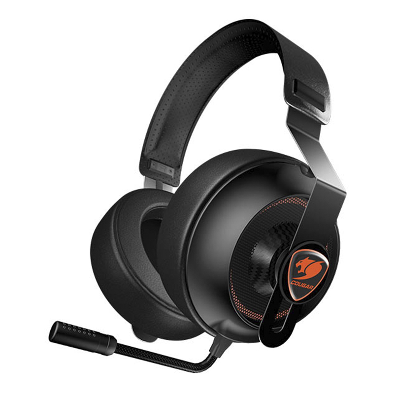 Audífonos tipo Headset Gaming Cougar PHONTUM ESSENTIAL Stereo Alámbrico Negro